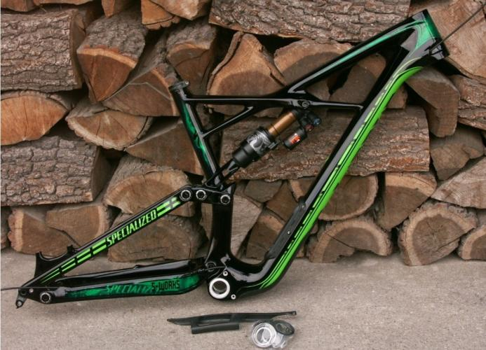 Rama Specialized S-Works Enduro - L - 170mm - boost 148 - Fox Float X2