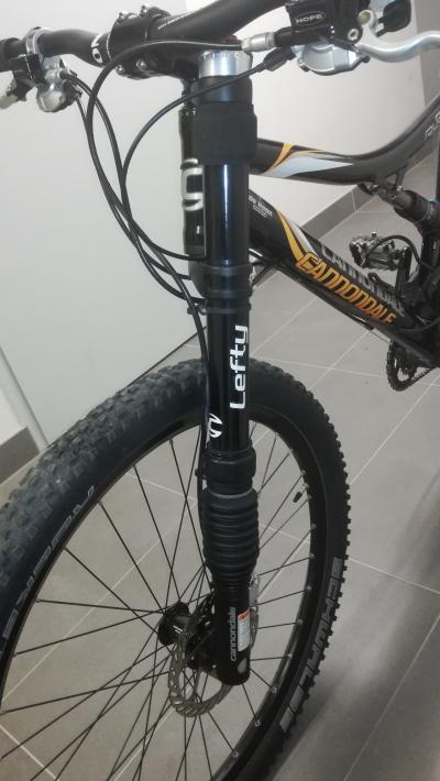Rower mtb Cannondale Rush/Lefty